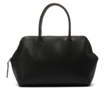 Tanned Leather Black Handtasche 2120100060004-M