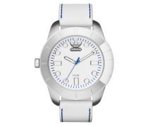 1969 Superstar White Leather Uhr ADH3036