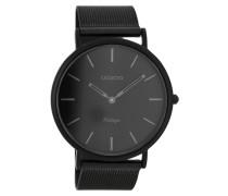 Vintage Uhr Schwarz C7722 ( mm)