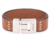 Brown Armband 24602-BRA-MIDBrown-L-1 (21.30 cm)