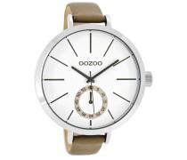Timepieces Taupe/Weiß Uhr C8317 ( mm)