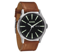 Sentry Leather Black/Saddle Uhr A1051037