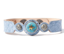 Petite Blue Salmon Armband WPCS-9090-99-M (22.50 cm)