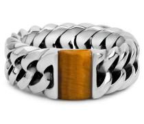 603TI Chain Stone Tiger Eye Ring