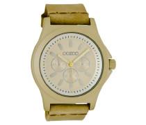 Timepieces Uhr Gold/Beige C6510 (47 mm)