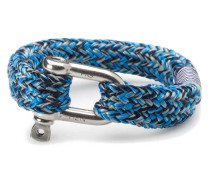 Fat Fred Blue/Silver/Navy Armband P01-60815 (Länge: 22.00 cm)