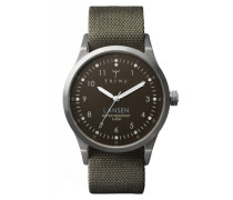 Partisan Lansen Brown Army Canvas Mono Uhr LAST111MO063212