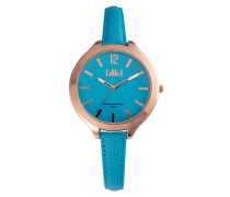 Summer Coral Blue/Rose gold Uhr SU-07