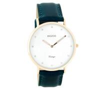 Vintage Blauw/Weiß Uhr C7779 ( mm)