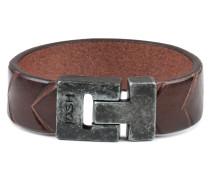 Vintage Black Brown Armband 24654-BRA-VB-BROWN