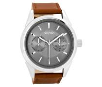 Timepieces Cognac/Grau Uhr C8593
