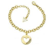 G Girl Coin Heart Armband UBB51435