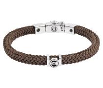 780BR Denise Cord Braun Armband