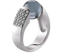 Cateye Silver Ring 12mm