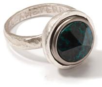 Petite Symbol Chunk Silver Ring JPCR-9200-101-019