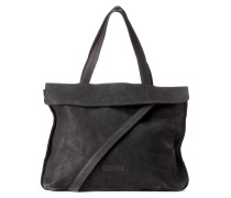 Shabbies Suede Black Handtasche 2130200020001-L