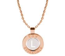 Iniziali Rose gold/Silver Armband 1806.004.003.L