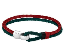 Urban Man Red and Green Armband LS1813-2-1