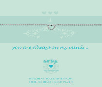 You Are Always On My Mind Armband B27OPH12S