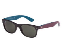 New Wayfarer Sonnenbrille Matte Black RB2132 6182