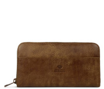 Core Medium Hand Buffed Leather Brown Reißverschluss-Mappe 3220100103028-M