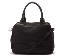 Shabbies Grain Leather Black Handtasche 2120200010001-M