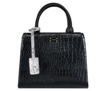 Logan Bexley Black Croco Handtasche PBN126489