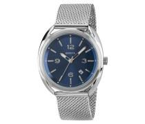 Beaubourg Mesh Bracelet Blau Dial Uhr TW1601