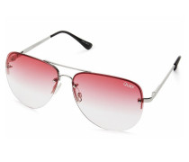 Muse Fade Silver Red Sonnenbrille 9343963014129