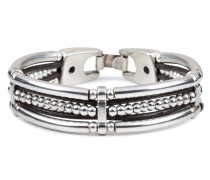 Silver Brown Armband 04458-BRA-BROWN-S (Länge: 19 cm)