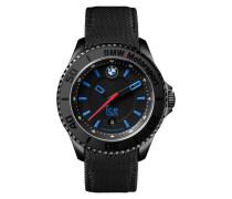 BMW Motorsport Black Unisex Uhr BM.KLB.U.L.14