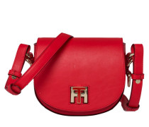 Twist Leather Mini Crossover Fiery Red Handtasche AW0AW03698615