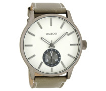 Timepieces Taupe/Weiß Uhr C8210 ( mm)