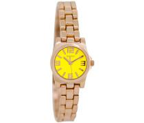 Timepieces Uhr Rosegold/Fluo Gelb C5790 ( mm)