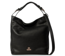 Core Large Grain Leather Black Schultertasche 2320100080001-L