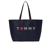Honey Ew Tote Tommy Navy/Love Tommy Handtasche AW0AW03929909
