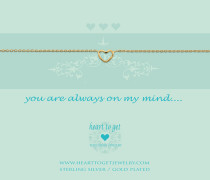 You Are Always On My Mind Armband B27OPH12G