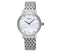 Stahl Damen Swarovski Uhr SFQ807P1