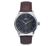 Tony Silver/Black Uhr TY-01