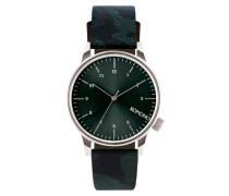 Winston Camo Green Uhr KOM-W2169