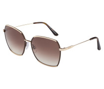 Sonnenbrille Shiny Rose Gold TO01855828F