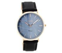 Vintage Schwarz Uhr C7770 (40 mm)