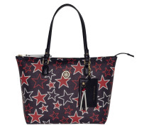 Love Tommy Zipped Tote Tommy Navy/Star Print Schultertasche AW0AW04067905