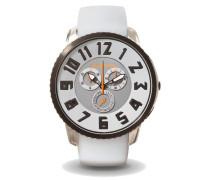 Round Gulliver Slim Chronograph Steel Grey/Black Uhr TE161001