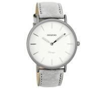 Vintage Uhr Grau/Weiß C7736 ( mm)