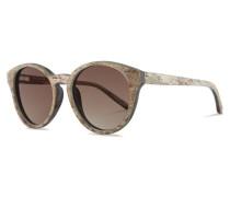 Leopold Sonnenbrille Quartz Slate/Gradient Brown