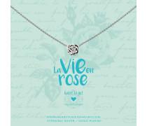 Rose Kette N358ROS17S (Länge: 40-44 cm)