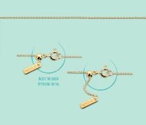 Adjustable Gold Armband B231ADJ14G