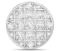 White Prosper Dome Silver Charm 41500