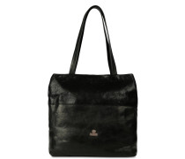 Trend Large Soft Grain Leather Black Shopper 2830100040004-L